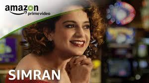 amazon prime bollywood movies amazon prime video simran youtube