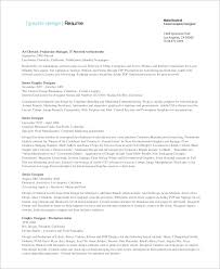 Graphic Designers Resume Samples by Sample Graphic Designer Resume 9 Examples In Word Pdf
