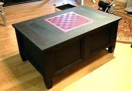 coffee table game console coffee table games board game coffee table awesome the board game