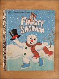 frosty snowman golden book annie north bedford