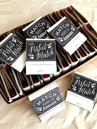 wedding matches match match boxes 50 diy wedding favors party favors