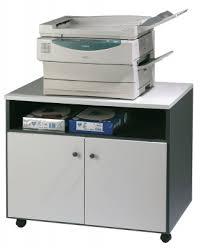 photocopieur bureau meuble mobile pour photocopieur achat caissons rangements