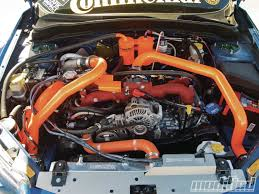 orange subaru wrx 2009 subaru impreza wrx sti zenkai motorsports modified magazine