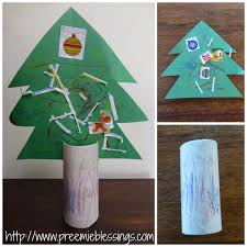 preemie blessings easy christmas tree craft