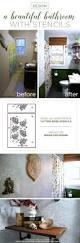 design a beautiful bathroom with stencils stencil stories