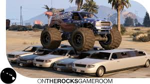 monster truck racing games free online grand theft auto 5 the liberator monster truck car crushing