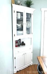kitchen corner hutch cabinets corner hutch cabinet dining room new for buffet white kitchen zelenbor