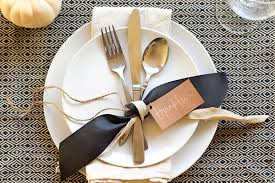 diy thanksgiving place setting idea tamera mowry