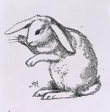 rabbit prints a rabbit by a hughes library prints