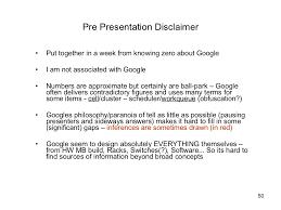 pre presentation disclaimer u003cul u003e u003cli u003eput together