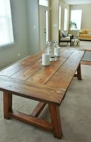 kitchen table contemporary rustic farmhouse plank tables