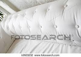 Chesterfield White Leather Sofa Clip Of Back Of White Leather Sofa Textured Button