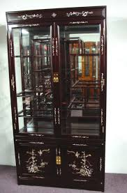 Wall Mounted Curio Cabinet Rosewood Wall Curio Display Cabinetrosewood Wall Curio Display