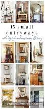 15 fresh ideas for small entryways small entryways