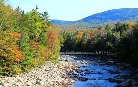 white mountains hampshire fall foliage