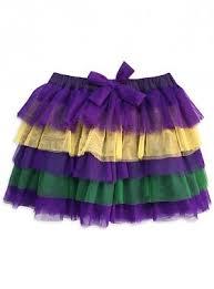mardi gras skirt layers fleurty girl