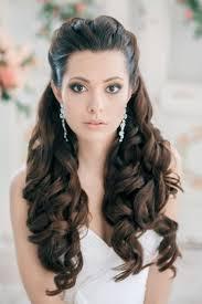 classy updo hairstyles stunning half up half down wedding