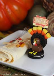 how to make a turkey out of oreo turkey pilgrim and candies