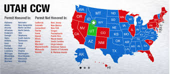 pa carry permit reciprocity map utah concealed firearms permits ccw lax range