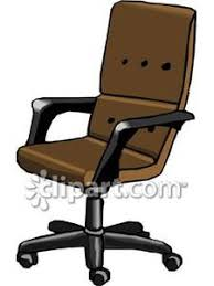 Free Desk Chair Brown Desk Chair Royalty Free Clipart Picture