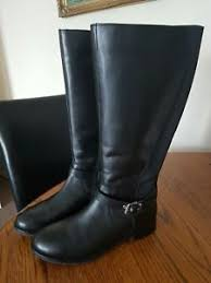 s kangol boots uk kangol black leather knee high winter boots size uk 7 eur
