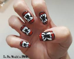 bat nail art photo album cerene creative and easy halloween nail