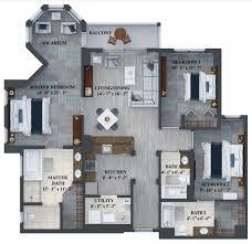 Resort Floor Plans Floor Plans The Grove Resort Orlando