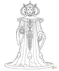 queen amidala coloring free printable coloring pages