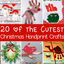 20 of the cutest christmas handprint crafts for kids