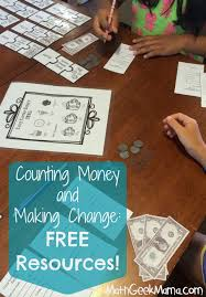 summer math camp all about money counting money money and fun