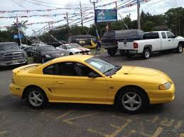 1994 Mustang Gt Interior 94 Mustang Gt 5 Speed Manual Low Miles Yellow Power Seats