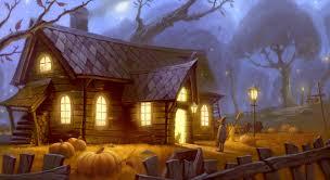 halloween wallpaper desktop halloween scenery wallpaper