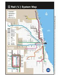 L Train Chicago Map by Cta Bus And Train System Maplets