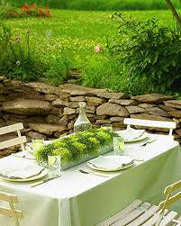 Make A Picnic Table Cover by Outdoor Party Ideas Martha Stewart