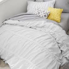 Pottery Barn Teen Comforter Painterly Stripe Pucker Up Comforter Sham Pbteen