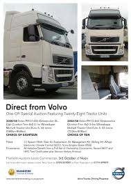 volvo commercial vehicles volvo trucks u0027 first branded auction a success commercial vehicle