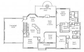 split plan house house split ranch house plans