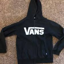 72 off vans other vans zip up hoodie sweatshirt skull and