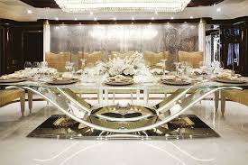 Formal Dining Table Luxury Modern Formal Dining Room Sets Design With Glass Dining