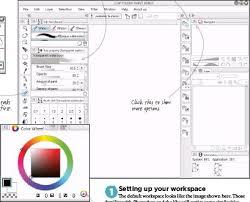 pressreader imaginefx 2016 08 12 setting up in clip studio paint