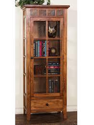 rustic wood display cabinet rustic oak curio cabinet oak curio cabinet curio cabinet