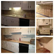 painting tile backsplash check it out pinterest painting