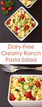 Creamy Pasta Salad Recipes by Dairy Free Ranch Pasta Salad Recipe