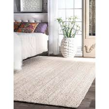 Pottery Barn Wool Jute Rug Captivating White Jute Rug On Woven Rigo Home Decoractive