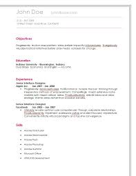 Online Resume Building by Simple Resume Easiest Online Resume Builder