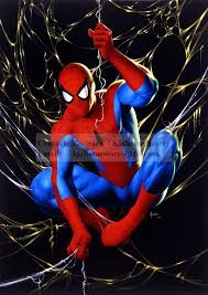 coloring spider man painting spiderman painting book