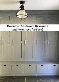 mud room plans free mudroom drawing plans and resource list