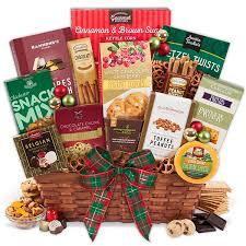 christmas food baskets food basket for christmas select by gourmetgiftbaskets
