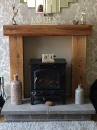wooden beam above fireplace fire place solid french oak beam
