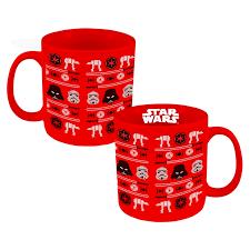christmas mug wars christmas sweater mug stupid